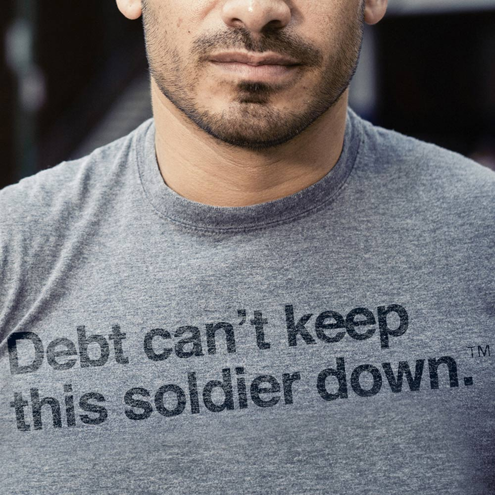 Credit Org Don T Let Debt Keep You Down Soldier Credit Org